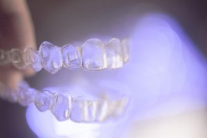 Invisalign attachments Center City orthodontist